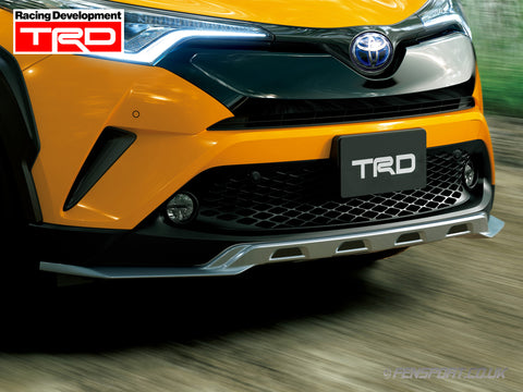 TRD Front Lower Spoiler - Extreme Style - Silver - Toyota C-HR
