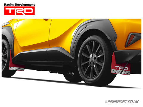 TRD Mud Flap Set - Red - Toyota C-HR