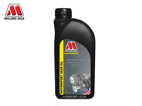 Millers Gear Oil with LSD Additive - CRX LS 75w90 NT+ - 1 Litre