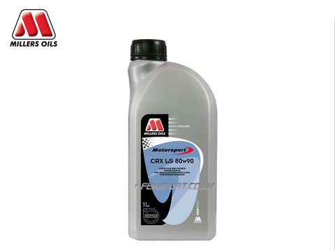 Millers Semi Synthetic Gear Oil with LSD Additive - CRX LS 80w90 - 1 Litre