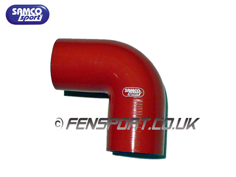 Samco E90 Degree Bend - Red - 70mm Diameter