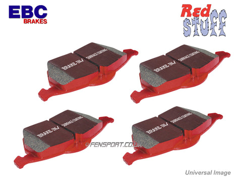 Brake Pads - Rear - EBC Redstuff - Supra JZA80 Single Piston, Soarer & Aristo