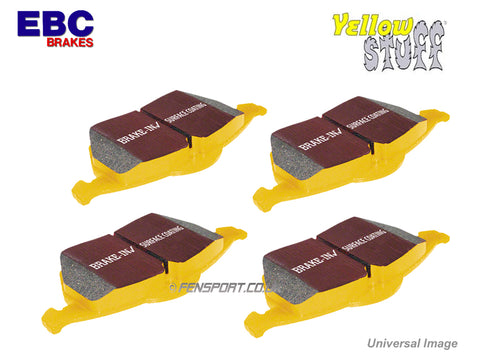 Brake Pads - Front - EBC Yellowstuff - MR2 Mk2 Rev 2 & 3, Levin 20V Twin Piston