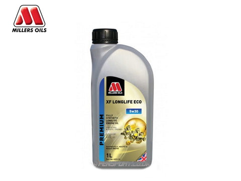 Millers - XF Longlife Synthetic Engine Oil - Eco 5w30 - 1 Litre