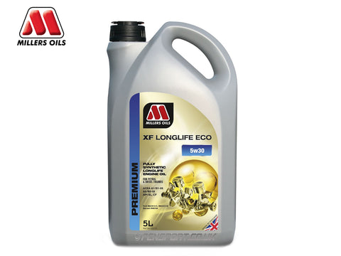 Millers - XF Longlife Synthetic Engine Oil - Eco 5w30 - 5 Litre