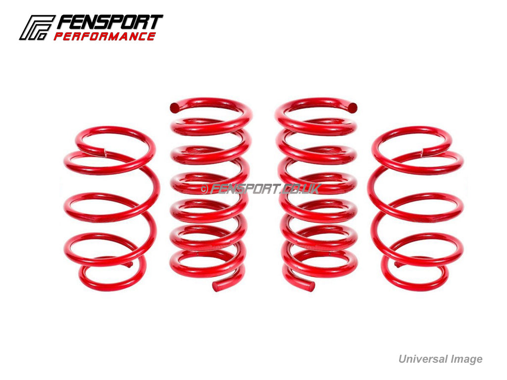 lowering spring set 4 pc set uptrated 30mm lower