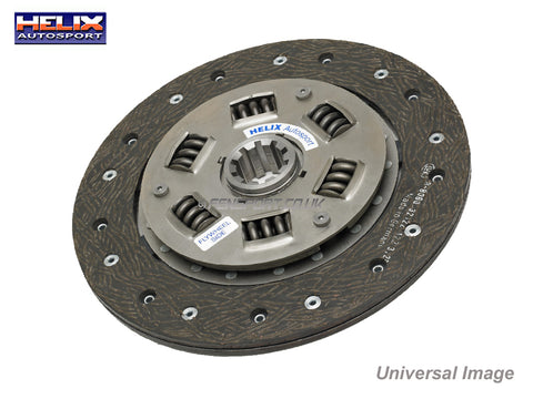 Helix Uprated Clutch Plate Organic - 212mm - Corolla, Starlet Turbo, Celica 140 & 190