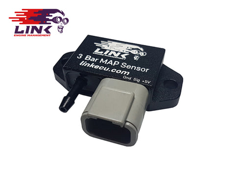 Link 3 Bar Map Sensor With Plug