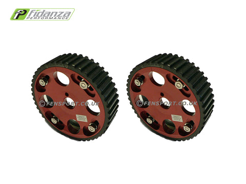 Cam Pulleys - Fidanza Adjustable - Red - Celica & MR2 3SG#