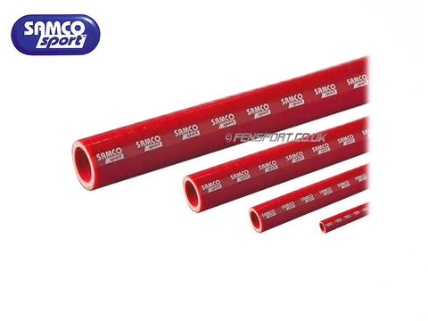 Samco Straight Hose - Red - Various Bore Size - 1m Length