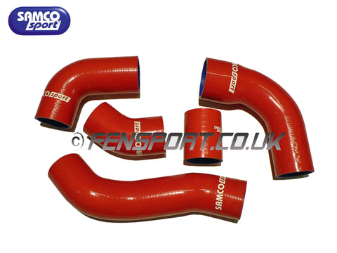 Samco Intercooler Hose Set - Red - Supra JZA80 Turbo