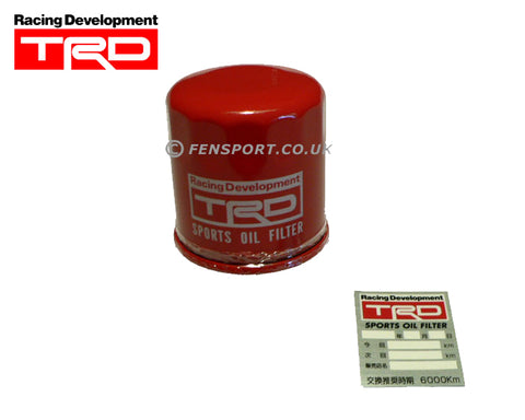 Oil Filter - TRD Sports - ST165 & 7M, 1JZ, 2JZ Engines