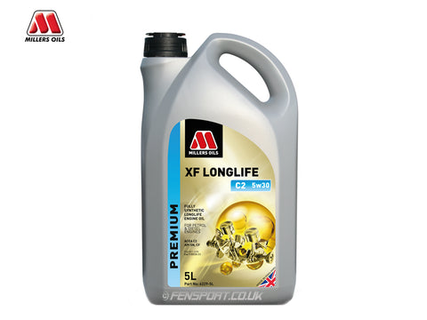 Millers - XF Longlife C2 Synthetic Diesel Engine Oil - 5w30 - 5 Litre