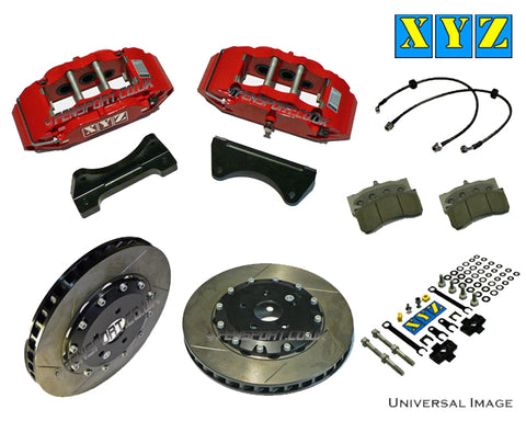"Brake Kit - Front - XYZ 6 Piston - 330mm - Yaris 1.8 Sport 06> (17"" Wheels)"