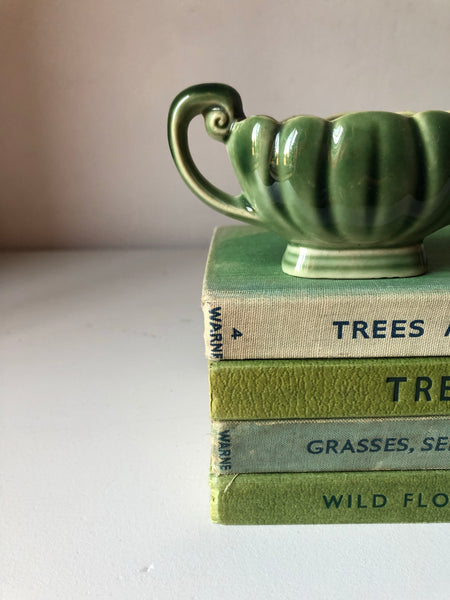 Vintage Green Mantle Pottery