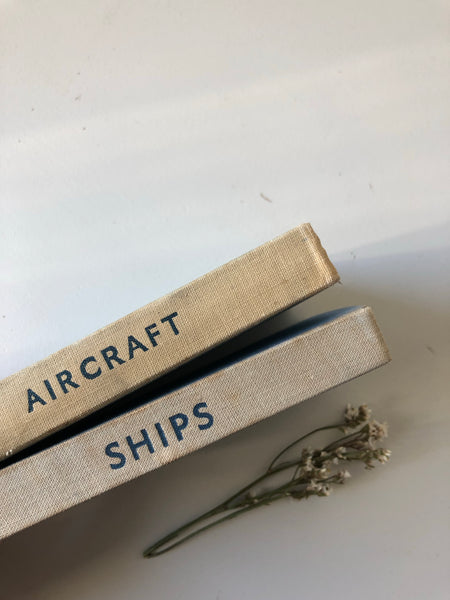 Pair of Observer Books, Ships and Aircraft