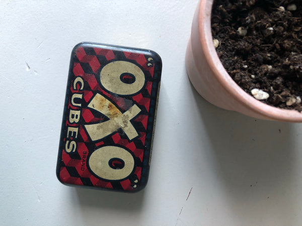 Vintage Mini Oxo Tin
