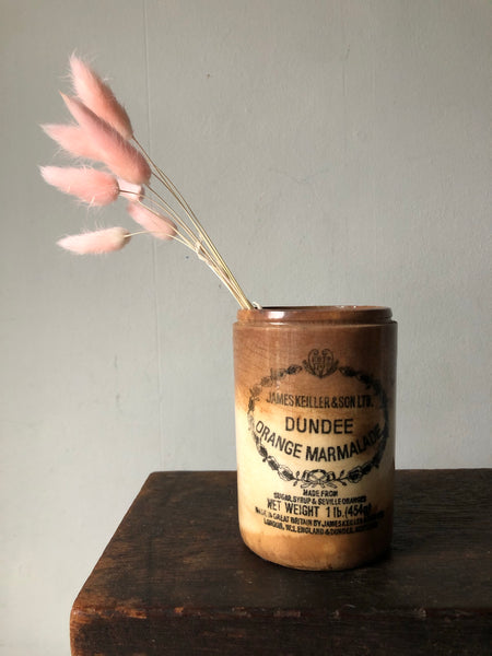 Antique Dundee Marmalade Jar
