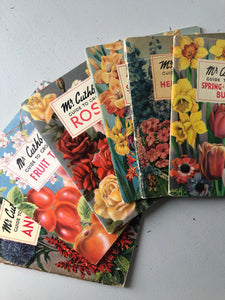 1950s Gardening booklet, Herbaceous borders