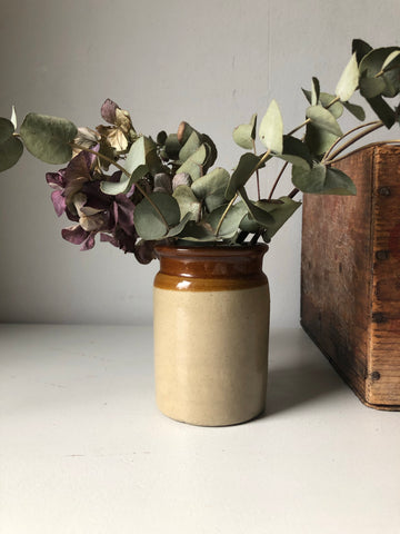 Victorian Earthenware Jar