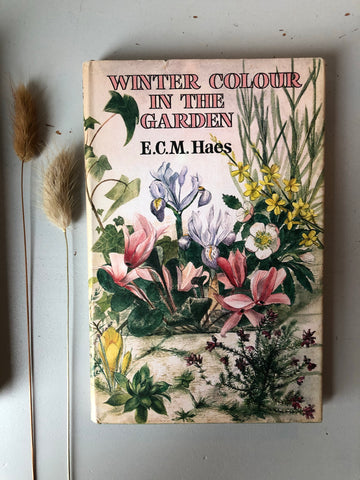 1960's Book 'Winter Colour In The Garden' with Illustrated Cover