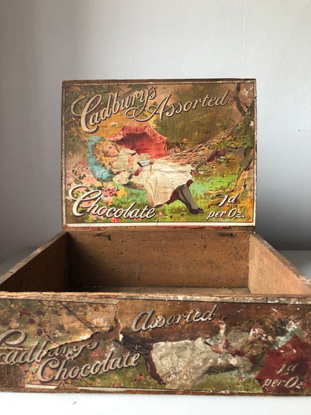 Edwardian Cadburys Chocolate Box