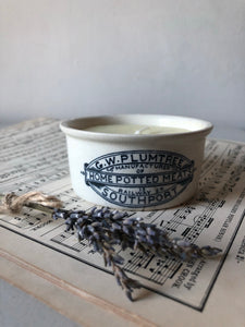 Plumtree Vintage Pot Candle, Sweet orange and Rosemary
