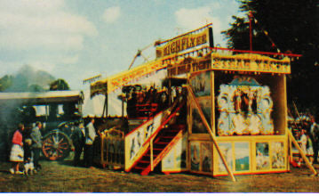 1960s Steam Fair Bill Poster