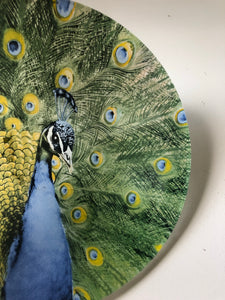Kitsch Peacock Bowl