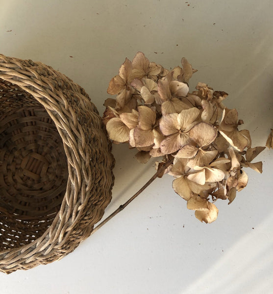 Rustic Basket Bowl