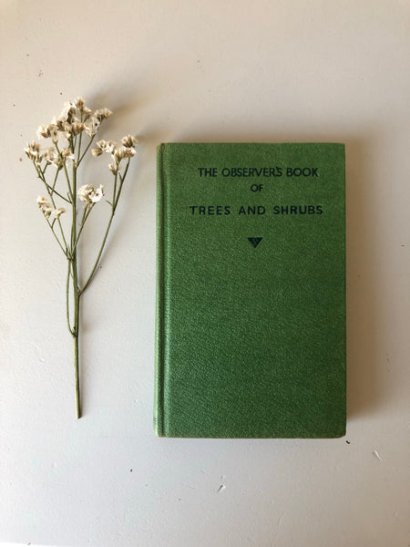 Observer Book of Trees and Shrubs