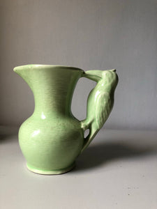 Art Deco Bird Jug