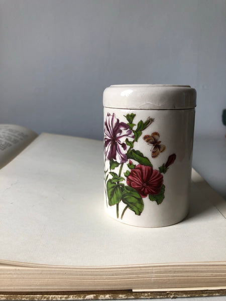 Vintage Preserve Pot with lid