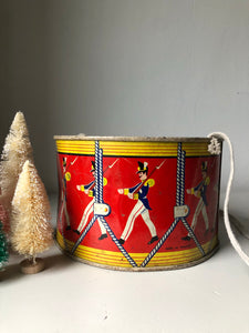 Antique Toy Drum