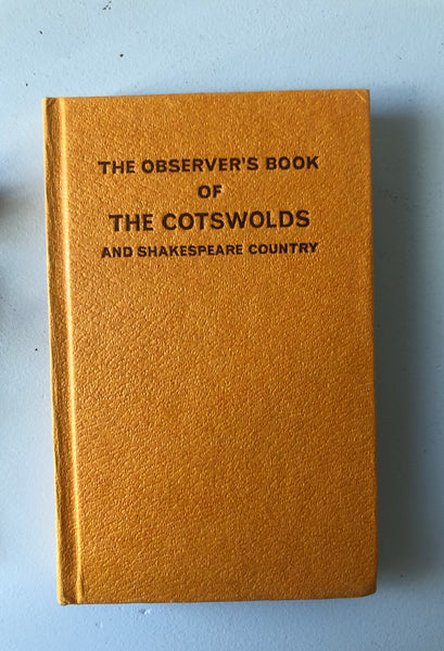 NEW - Observer Book of The Cotswolds