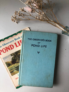Observer book of Pond Life