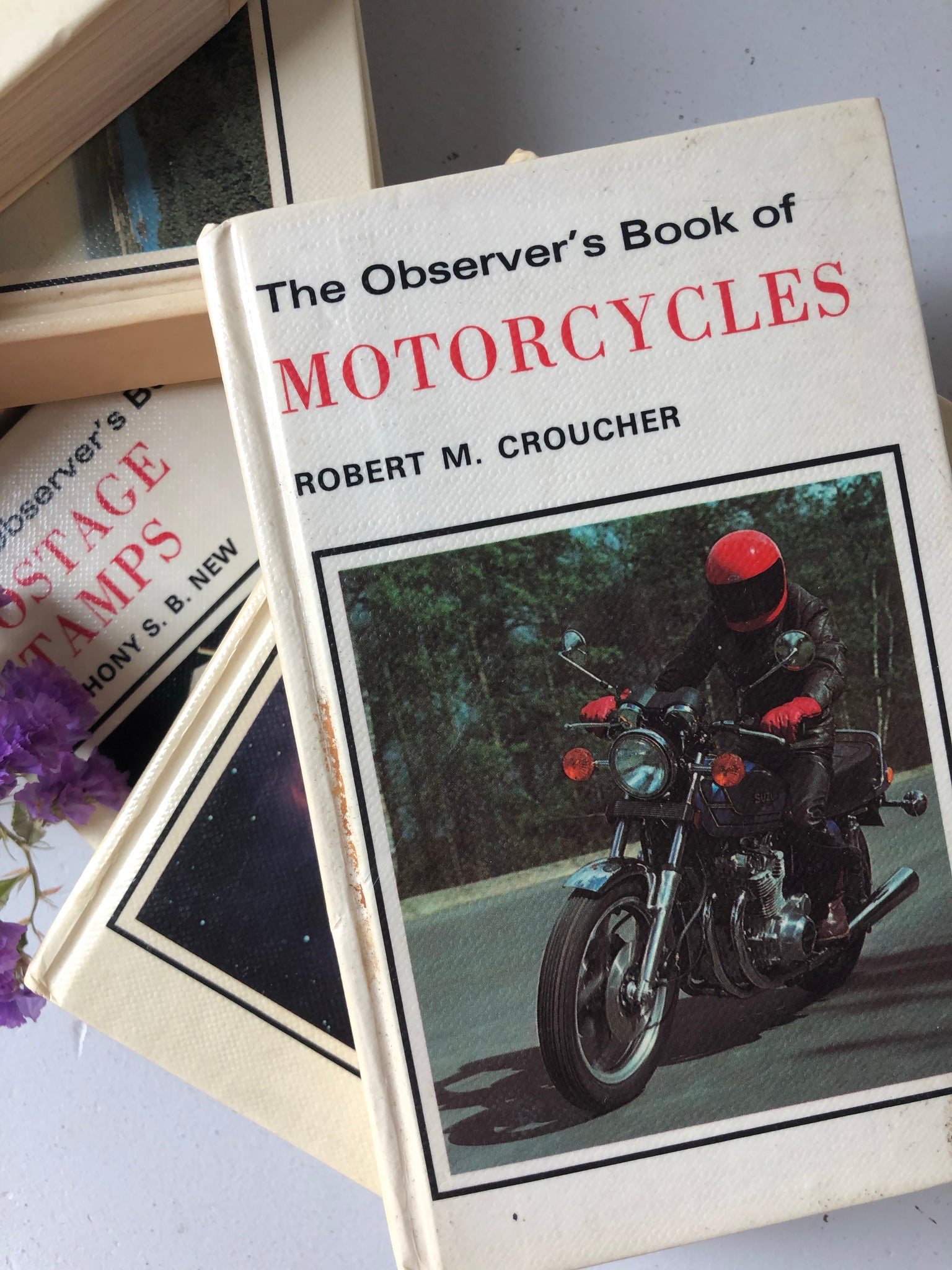 Observer Book of Motorcycles, Hardcover