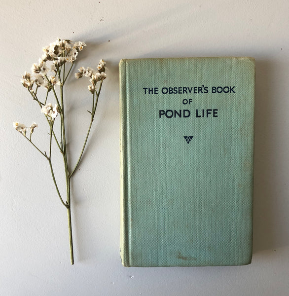 NEW - Observer Book of Pond Life
