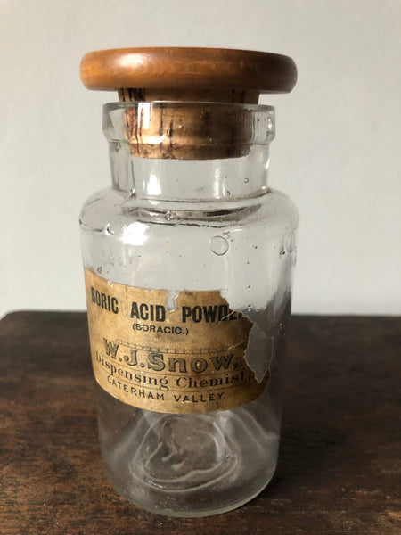 Antique Apothecary Bottle