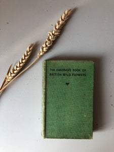 1930s Observer Book of British Wild Flowers