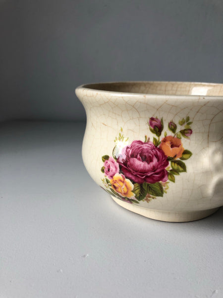Antique decorative chamber pot