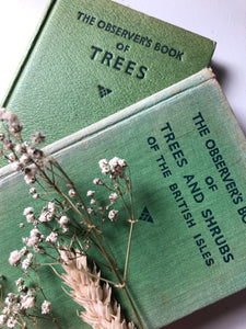 Pair of Observer books, Trees and Trees & Shrubs