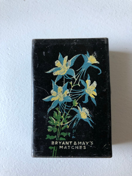 Vintage Bryant and May Matchbox cover