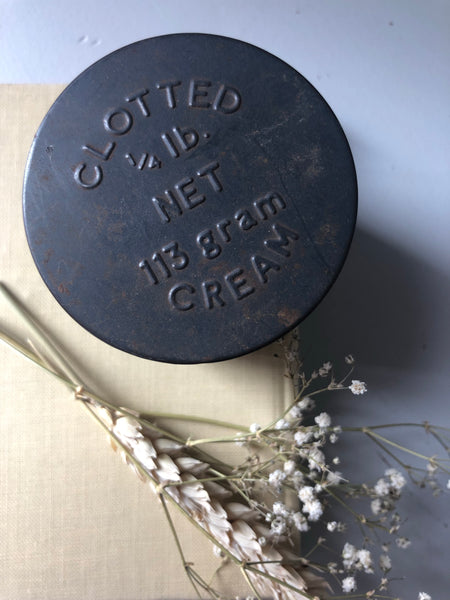 Antique Clotted Cream Tin