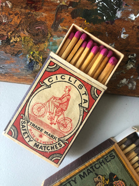 Box of matches, Cyclist