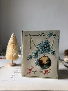 Antique 'Forget me Not' Card