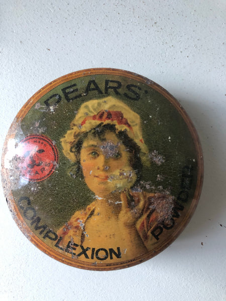 Antique 'Pears' Cosmetic Tin