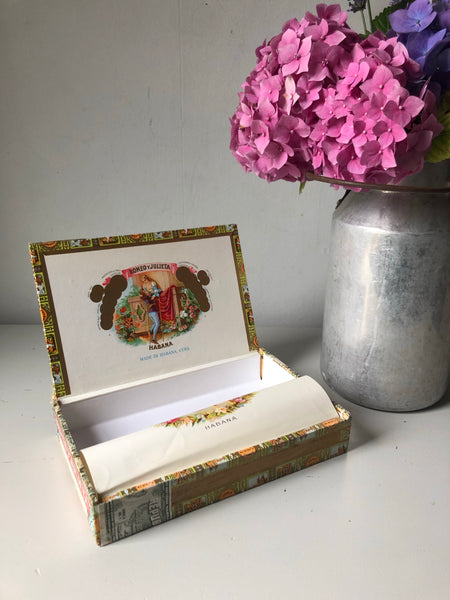 Decorative Cigar Box