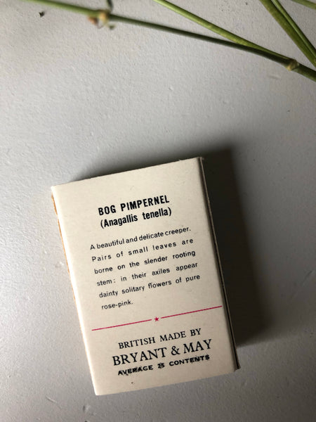 Vintage Bryant & May Matches