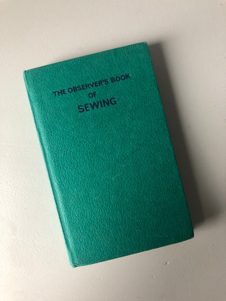 NEW - Vintage Observer Book of Sewing
